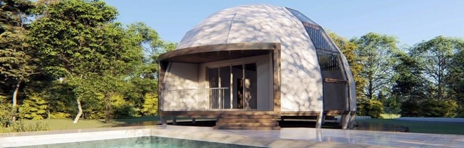 Куполни сглобяеми къщи - Живот в хармония с природата!